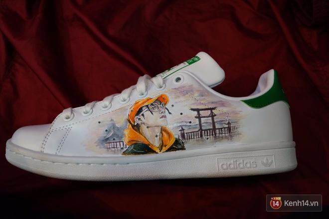 Đôi sneaker mà Sky nào cũng thèm muốn: adidas Stan Smith độ Sơn Tùng M-TP - Ảnh 12.