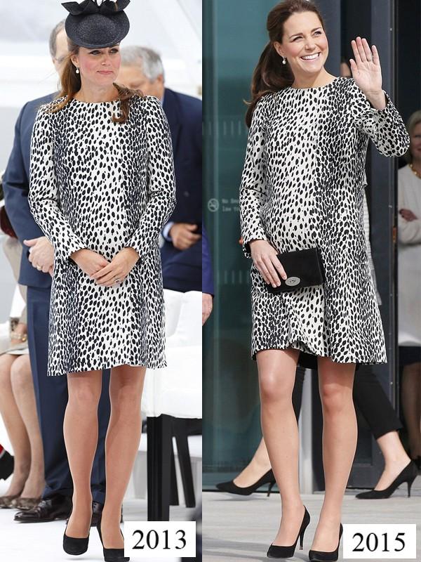 Công nương Kate tiết kiệm tột cùng, mang váy cũ từ... 6 năm trước ra mặc lại - Ảnh 4.