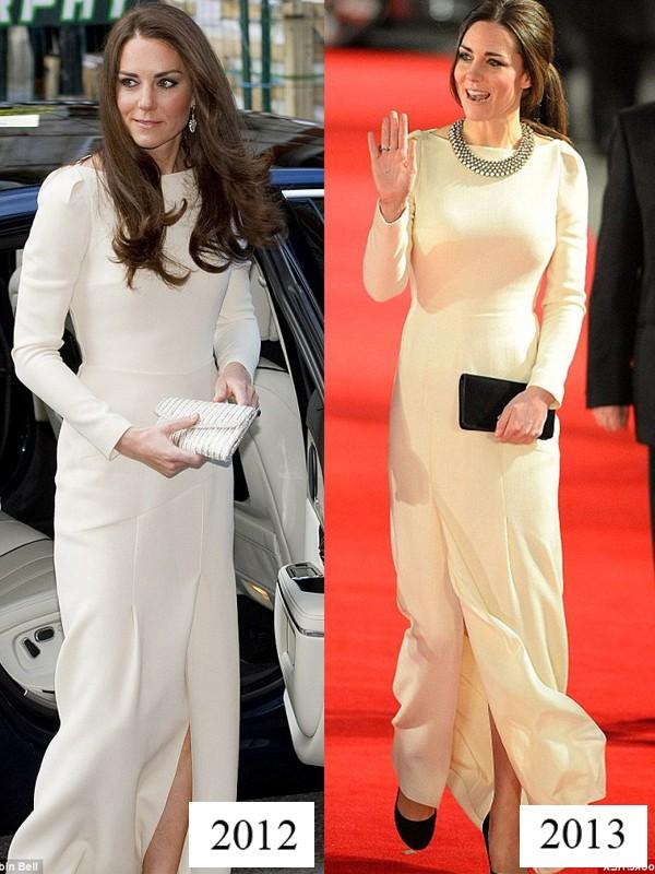 Công nương Kate tiết kiệm tột cùng, mang váy cũ từ... 6 năm trước ra mặc lại - Ảnh 5.