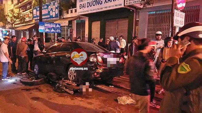 Đà Nẵng: Nữ tài xế đâm liên hoàn 3 xe trên đường rồi đạp ga chạy mất - ảnh 3