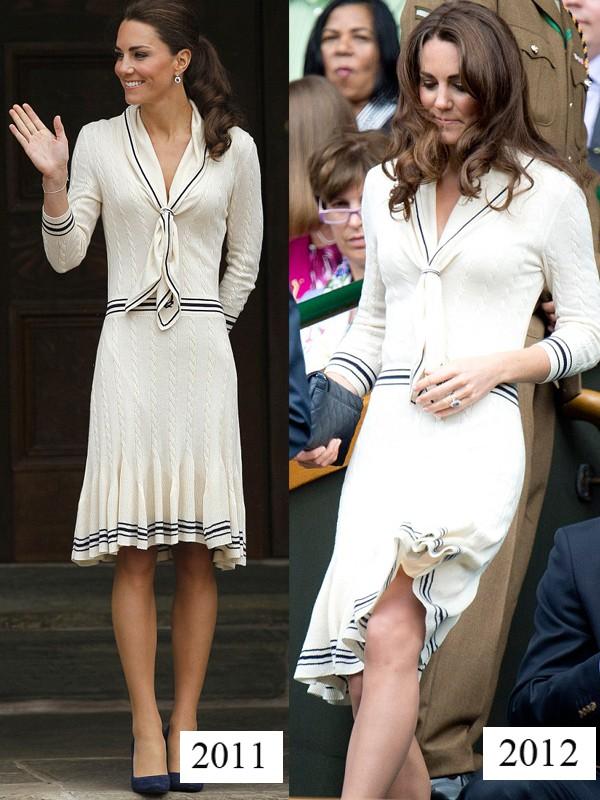 Công nương Kate tiết kiệm tột cùng, mang váy cũ từ... 6 năm trước ra mặc lại - Ảnh 7.