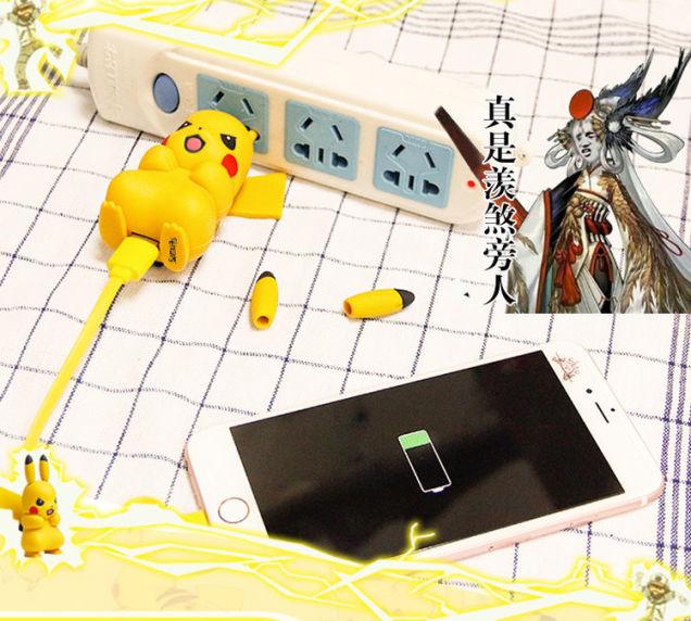Chiêm ngưỡng dây sạc Pikachu mà ai cũng phải phì cười vì độ bá đạo của nó - Ảnh 6.
