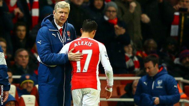 Alexis Sanchez liệu có rời khỏi được Wenger?