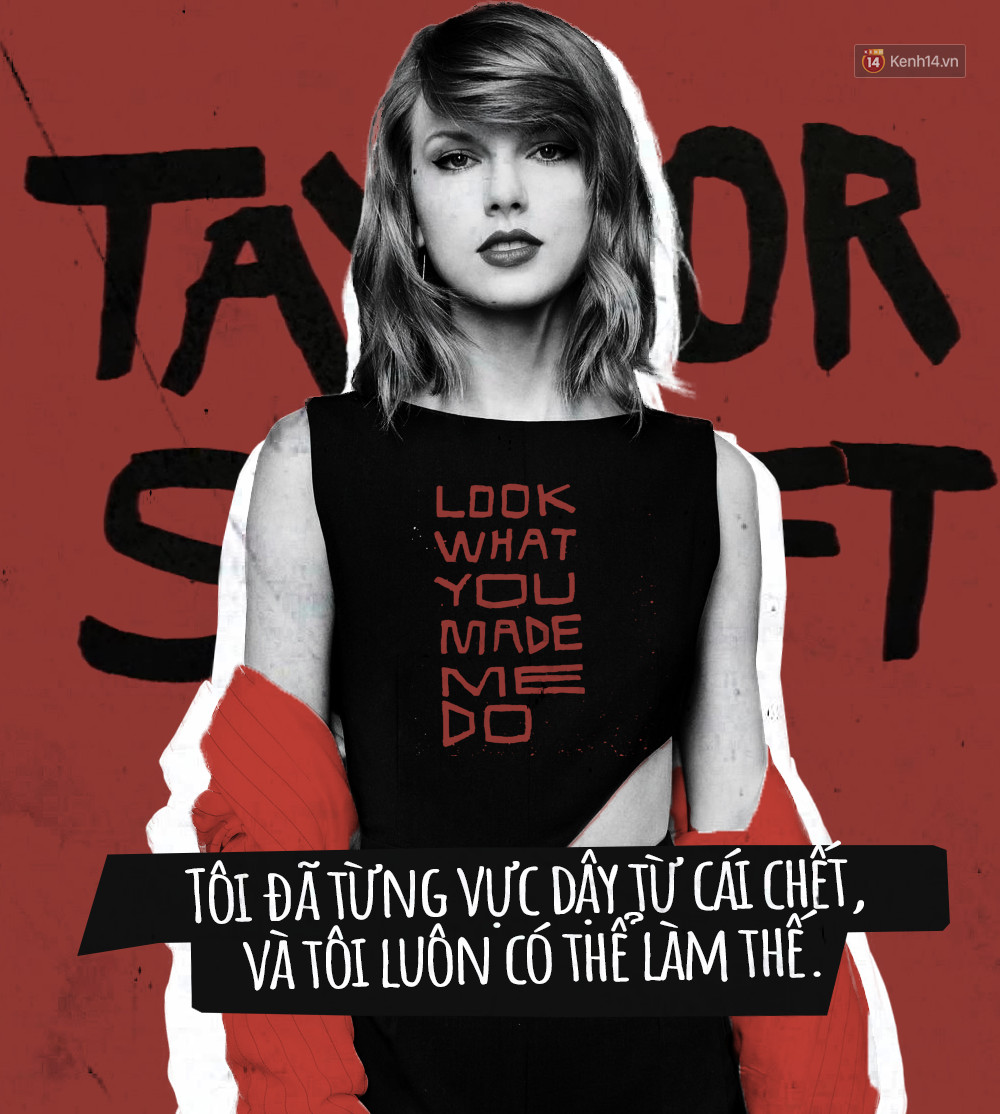 Taylor Swift với giọng điệu đầy mỉa mai trong Look What You Made Me Do