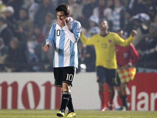 Lionel Messi và 5 trận cầu thất vọng nhất sự nghiệp - ảnh 5