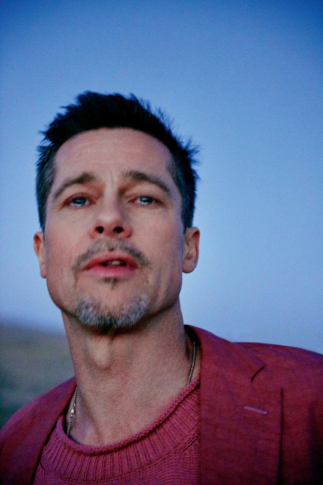 Bộ ảnh sướt mướt dễ mủi lòng là thế nhưng ai không để ý outfit toàn đồ hiệu mà Brad Pitt mặc thì hơi phí - Ảnh 5.