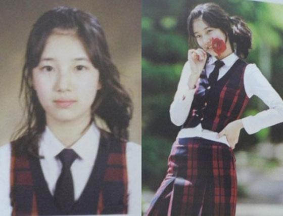 Suzy thì có thể nhận ra dễ dàng, bởi gương mặt cô ngày đó và bây giờ không khác mấy