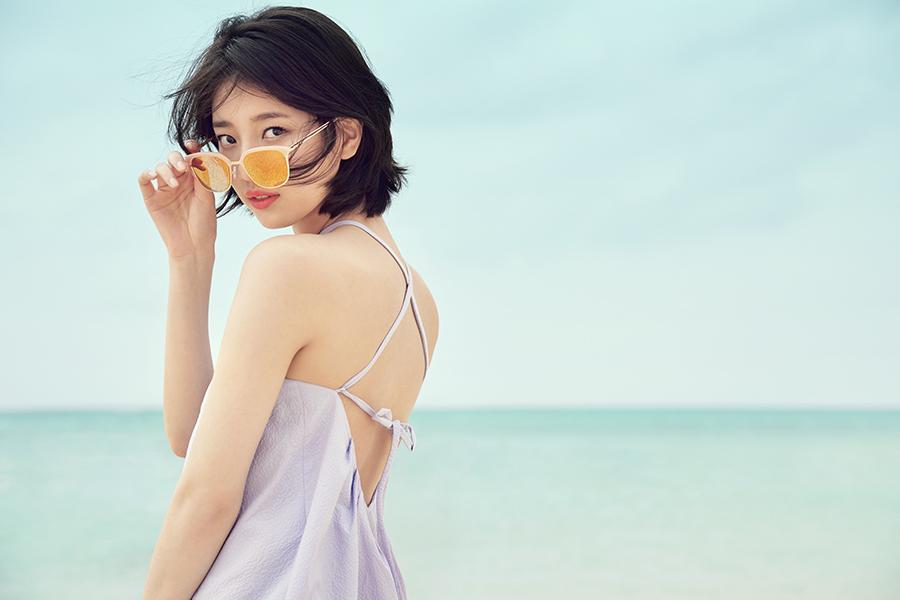 Sao Hàn: Cắt tóc ngắn cũn, Suzy càng sexy và khoe da thịt nhiều hơn?