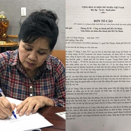 Trước nguy cơ ngồi tù 3 năm vì hành vi xúc phạm người khác, Trang Trần vẫn tỏ ra thách thức nghệ sĩ Xuân Hương 1