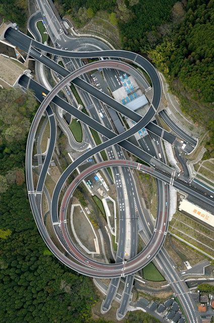 Không phải photoshop đâu, đây chính là công trình giao thông thứ thiệt tại Nhật Bản đấy - Ảnh 2.