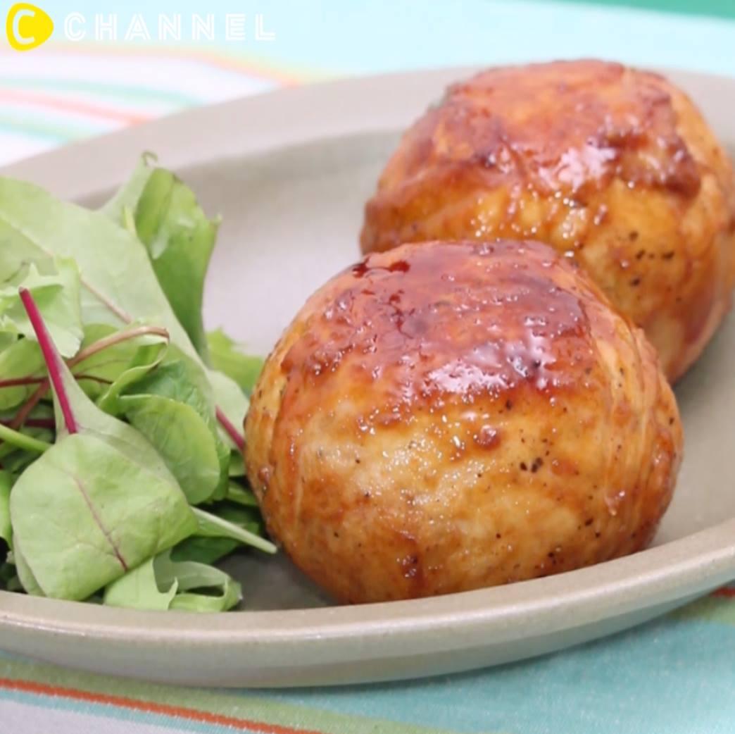 Thử ngay món mới: cà chua nhồi 3 lớp với sốt teriyaki lạ lạ ngon ngon