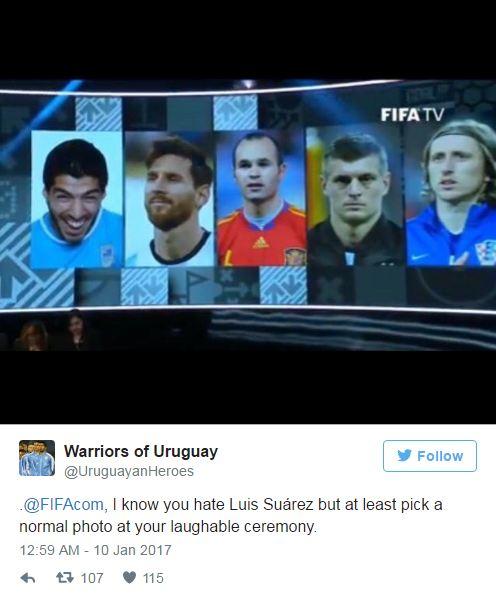 FIFA trở thành trò cười khi xem Luis Suarez như trò đùa - Ảnh 1.