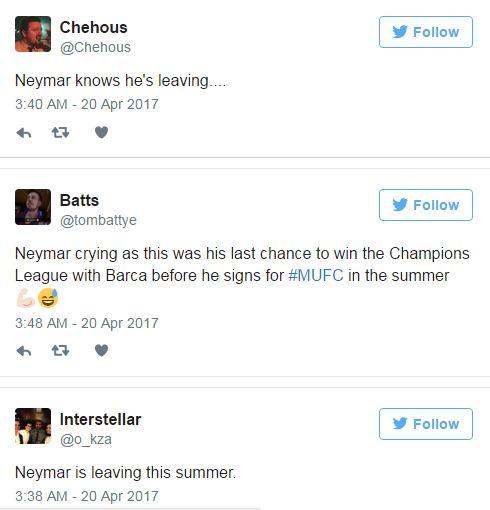 Neymar khóc như mưa, có thể rời Barca đến Man Utd - Ảnh 3.