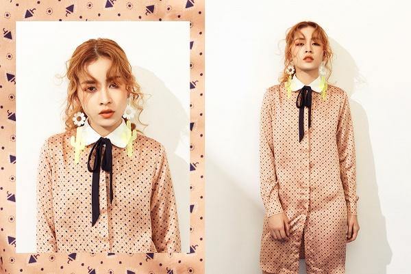 Chi Pu chuyển ngạch sang nghề thiết kế, rủ Á hậu Hàn Quốc cùng đóng clip thời trang - Ảnh 2.
