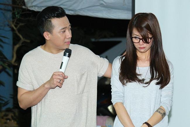 An Nguy, Trấn Thành không kìm được nước mắt trong buổi chúc tết các nghệ sĩ già - Ảnh 12.