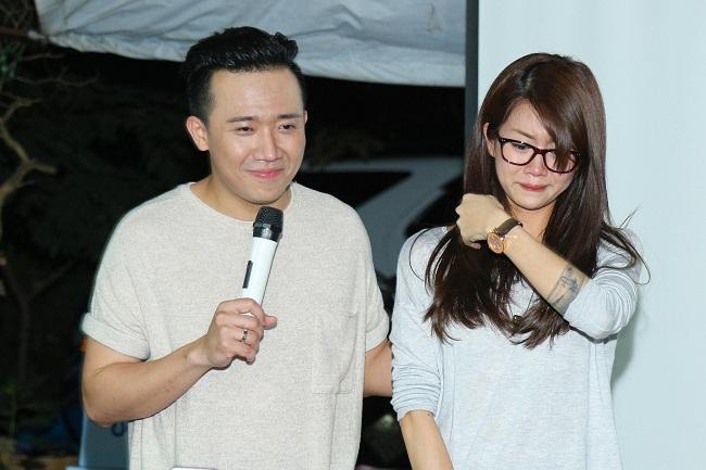 An Nguy, Trấn Thành không kìm được nước mắt trong buổi chúc tết các nghệ sĩ già - Ảnh 11.