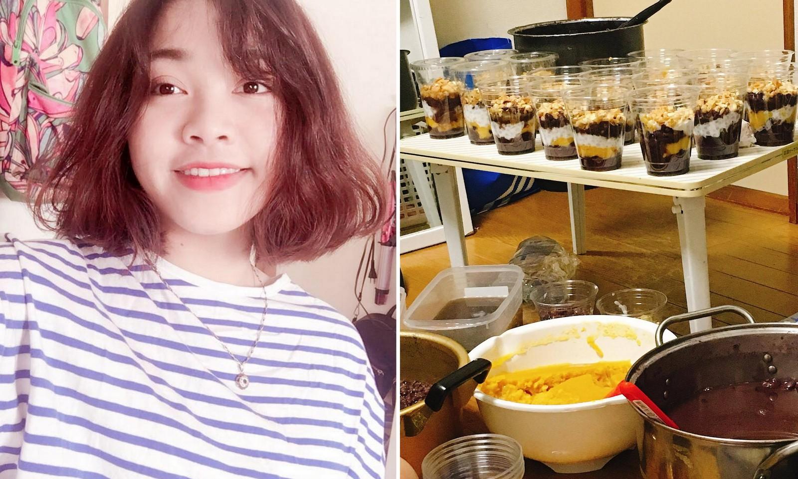 Kết quả hình ảnh cho Du học sinh Việt: Học bài bên nồi chè, mỗi ngày bán hơn 150 suất