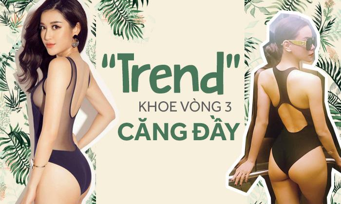 Khoe Vòng 3 Bốc Lửa Mới Là Trend Mà Các Sao Việt Theo đuổi Bây Giờ