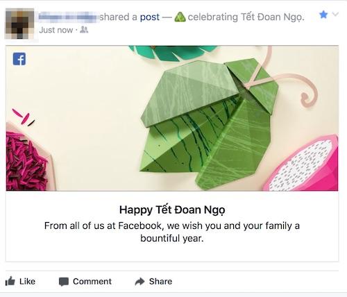 Các bạn hãy cùng nhau share hình ảnh này để ăn mừng ngày Tết Đoan Ngọ trên Facebook nhé. - Ảnh 2.
