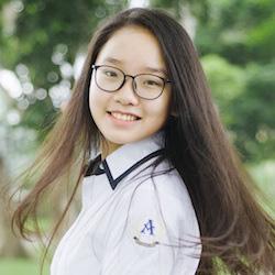 Hình ảnh Điểm phẩy Toán 9,9 - Cô bạn sinh năm 2002 thi đỗ vào loạt trường chuyên hàng đầu ở Hà Nội số 1