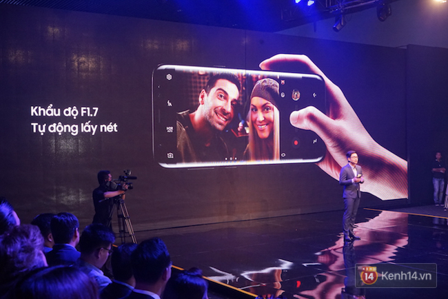 Toàn cảnh sự kiện Samsung Galaxy S8 chính thức ra mắt tại Việt Nam - Ảnh 15.