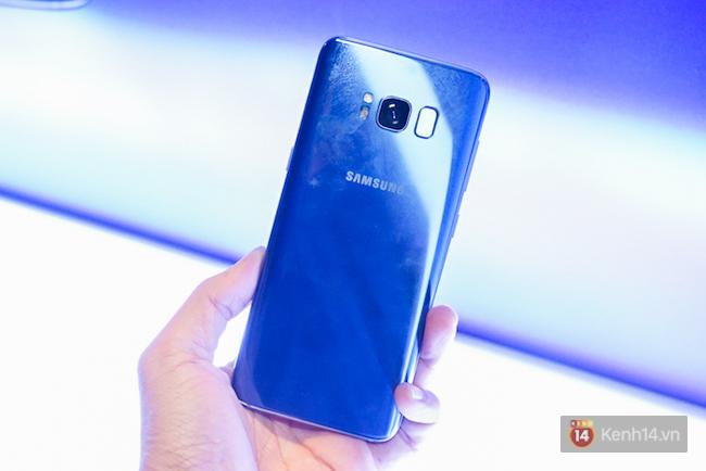 Vân tay, mã pin, mống mắt, v.v... Cách mở khoá nào là lựa chọn tối ưu trên Galaxy S8? - Ảnh 2.