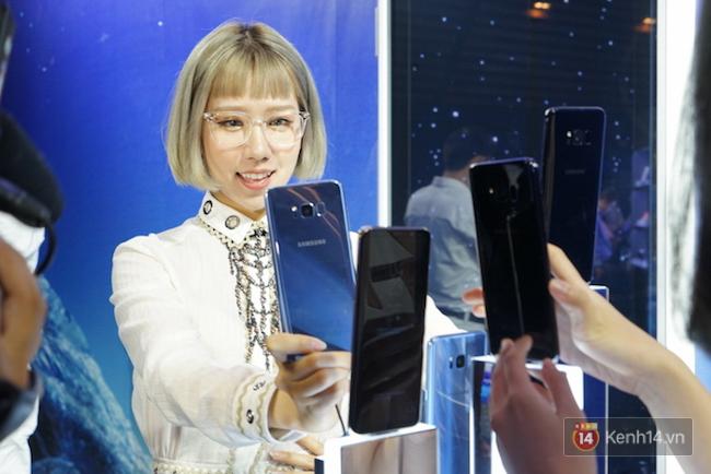 Cùng nhìn lại sự kiện ra mắt Samsung Galaxy S8 đầy thú vị và bất ngờ - Ảnh 11.