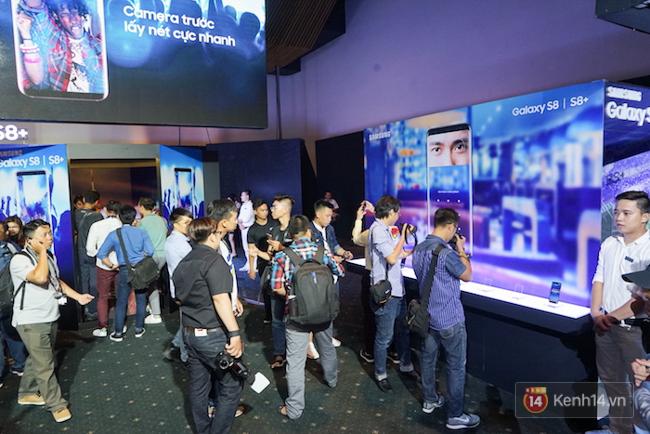 Cùng nhìn lại sự kiện ra mắt Samsung Galaxy S8 đầy thú vị và bất ngờ - Ảnh 15.