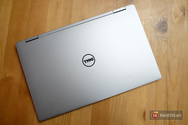 Cận cảnh laptop Dell XPS 13: thiết kế nhỏ gọn, màn hình lật 360 độ, có cả bút viết cảm ứng - Ảnh 12.