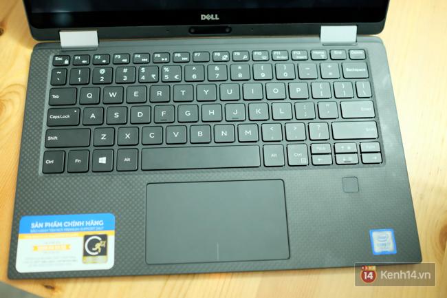 Cận cảnh laptop Dell XPS 13: thiết kế nhỏ gọn, màn hình lật 360 độ, có cả bút viết cảm ứng - Ảnh 6.