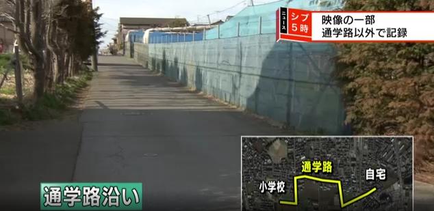 Camera hành trình của một chiếc ô tô đã ghi được hình ảnh của cô bé giống bé gái người Việt ở Nhật - Ảnh 1.