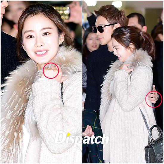 Lộ diện nhẫn cưới của cặp đôi quyền lực Kim Tae Hee và Bi Rain - ảnh 6
