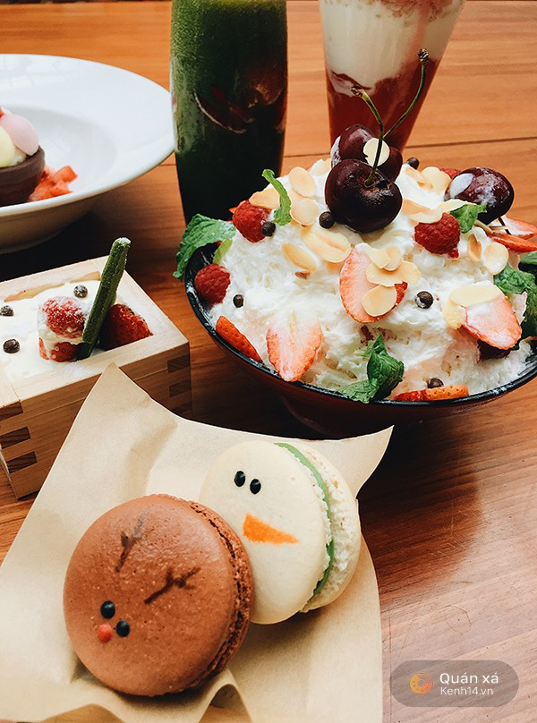 Điểm danh ngay loạt món ngọt mới toanh dành riêng cho mùa Giáng sinh ở Sài Gòn - Ảnh 5.