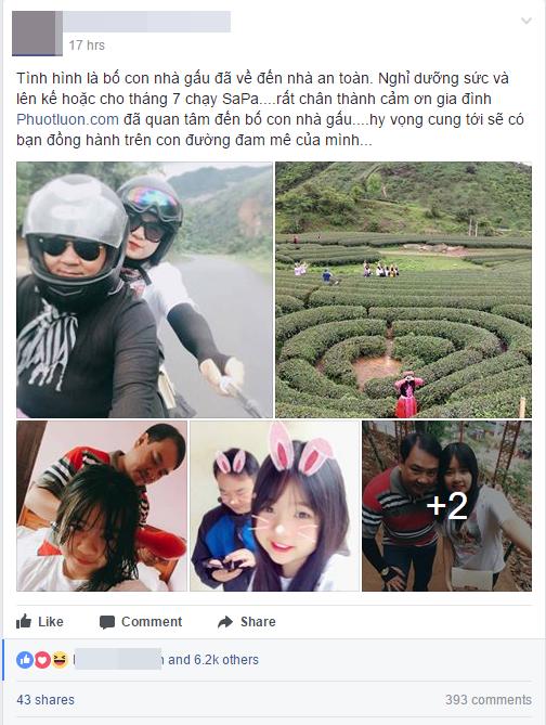 Tâm sự của ông bố đơn thân đưa con gái đi phượt mỗi khi hè về - Ảnh 1.