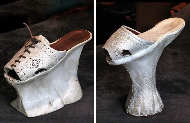 Giày cao gót 15 - 20cm đã là gì, quý cô thời xưa từng đi những đôi cao tới 60 phân cơ - Ảnh 1.