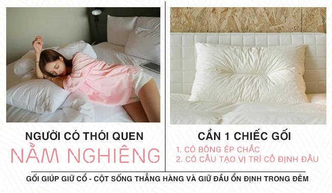 Hướng dẫn chọn gối chuẩn chỉnh theo tư thế thường xuyên khi ngủ của bạn - Ảnh 3.