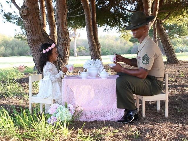 15 khoảnh khắc yêu ơi là yêu của các ông bố và con gái cưng - Ảnh 4.
