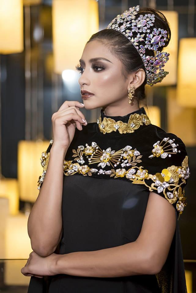 Từ trượt top 15, Huyền My trở lại ngoạn mục dẫn đầu danh sách thí sinh được yêu thích nhất tại Miss Grand International 2017 - Ảnh 4.