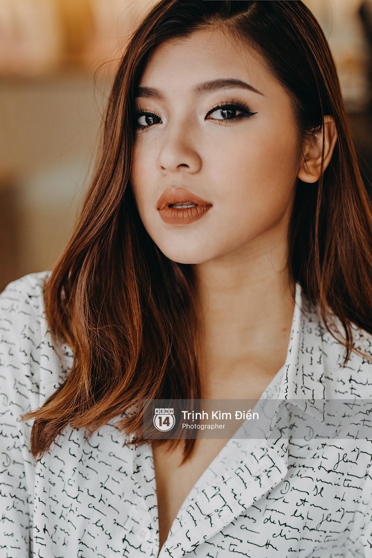 Đồng Ánh Quỳnh The Face: Sao trẻ: Lúc quay không để ý gì, xem tới tập 4 mình mới biết chuyện team Minh Tú bị bàn tán cô lập!