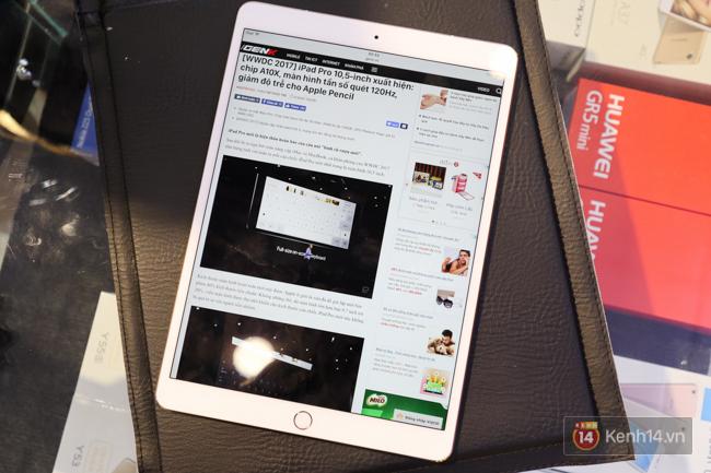 Trên tay iPad Pro 10,5-inch tại Việt Nam: Tất cả đều tuyệt nhưng đỉnh nhất là màn hình - Ảnh 2.