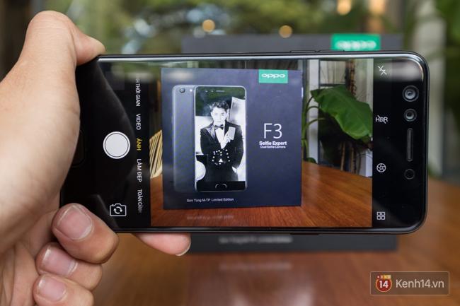 Trên tay điện thoại OPPO F3 phiên bản Sơn Tùng M-TP: giá 6.990.000 đồng, số lượng giới hạn chỉ 300 máy - Ảnh 10.