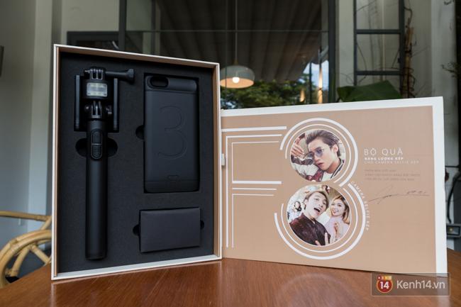 Trên tay điện thoại OPPO F3 phiên bản Sơn Tùng M-TP: giá 6.990.000 đồng, số lượng giới hạn chỉ 300 máy - Ảnh 14.