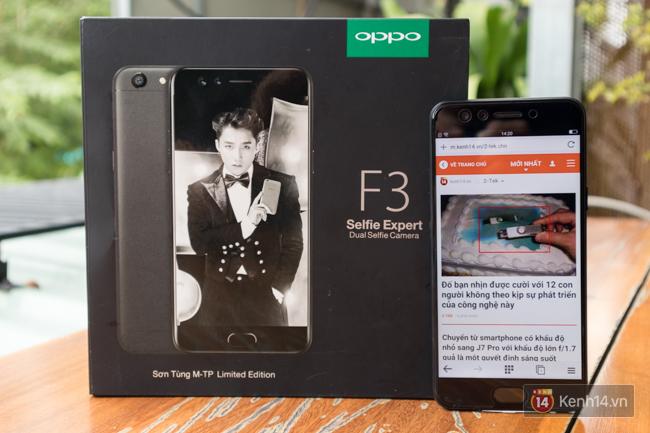 Trên tay điện thoại OPPO F3 phiên bản Sơn Tùng M-TP: giá 6.990.000 đồng, số lượng giới hạn chỉ 300 máy - Ảnh 15.