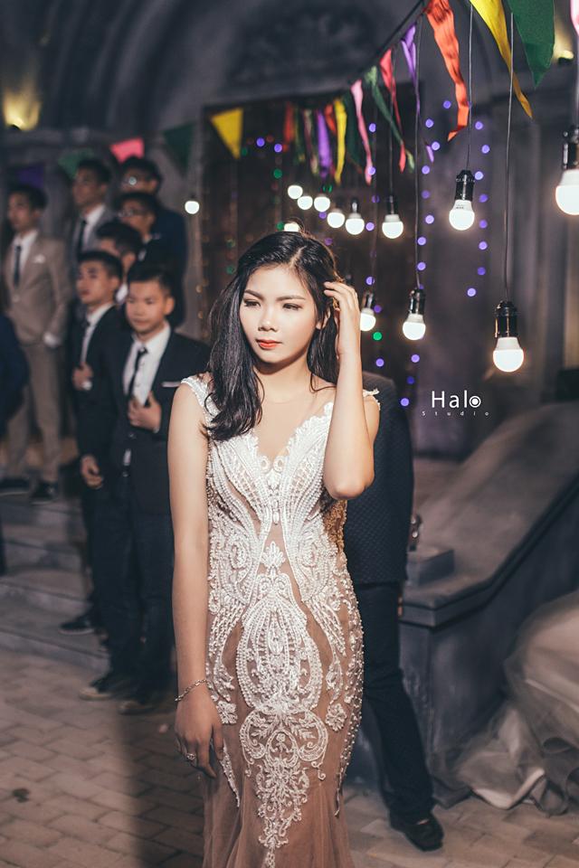 Độc nhất ở Thái Bình: Lớp học chi 40 triệu/đêm để hóa thân sang chảnh trong ảnh kỷ yếu phong cách dạ hội - Ảnh 16.