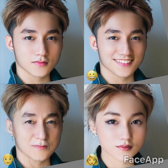 Dùng FaceApp kiểm tra xem sao Việt nào đẹp lão nhất - Ảnh 1.