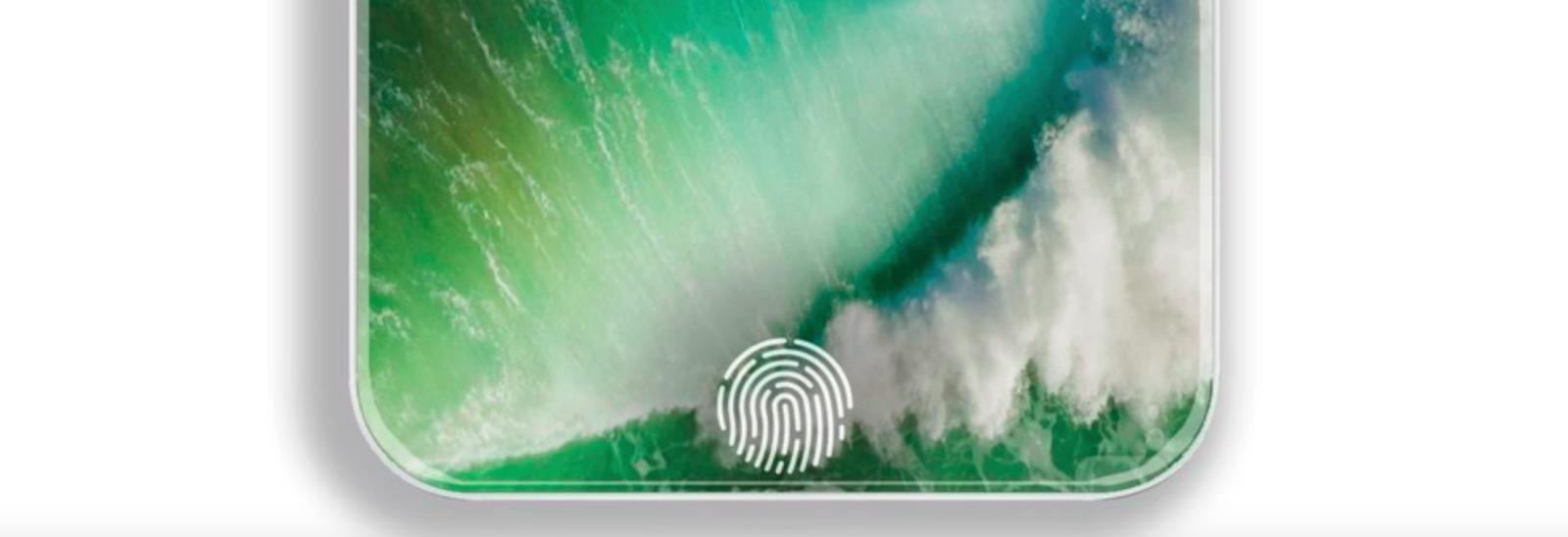 Kết quả hình ảnh cho Touch ID của iPhone 8