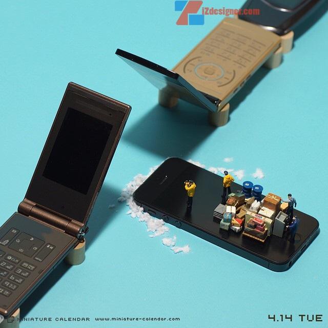 14 mô hình sắp đặt ấn tượng kết hợp từ smartphone - Ảnh 1.