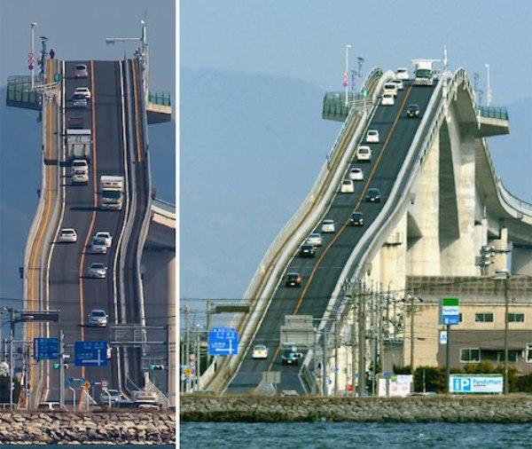 Không phải photoshop đâu, đây chính là công trình giao thông thứ thiệt tại Nhật Bản đấy - Ảnh 14.