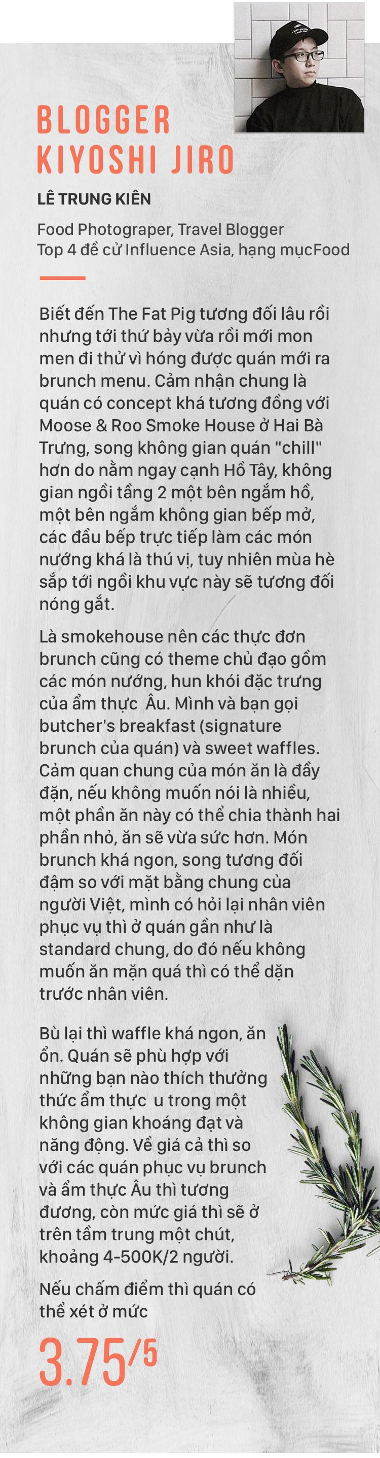 Quán Con Heo Béo – Một quán mới rất ổn cho những tín đồ thịt nướng kiểu Mỹ - Ảnh 19.
