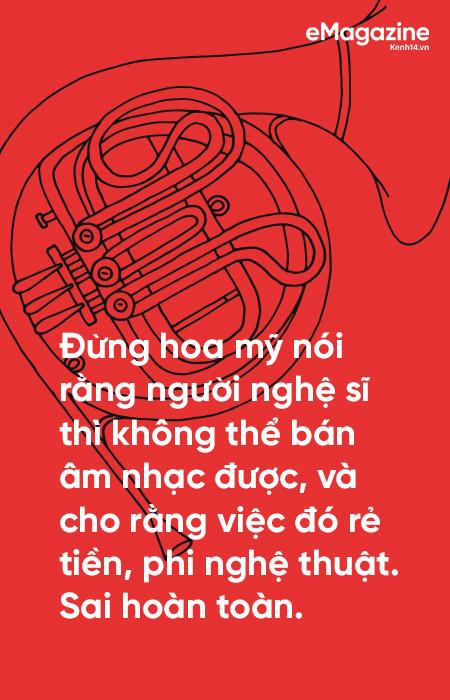 Hà Anh Tuấn: Không có nhạc sang hay hèn, thị trường hay không, chỉ có nhạc được làm tử tế hay cẩu thả - Ảnh 9.
